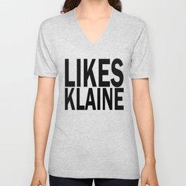Likes Klaine Unisex V-Neck