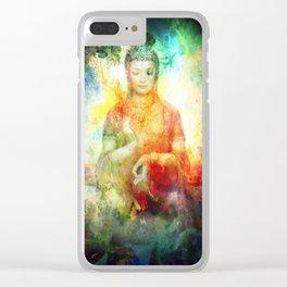 shanti 1 Clear iPhone Case