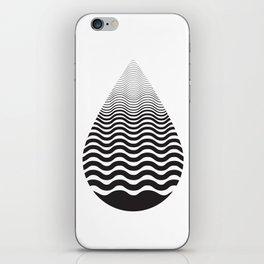 Water Drop iPhone Skin