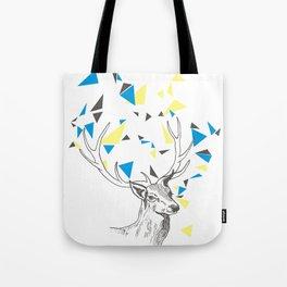 Rainbow Collection / deer Tote Bag
