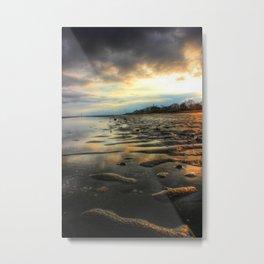 East Beach Sunset Metal Print