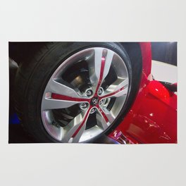 Hyundai Veloster Wheel Rug