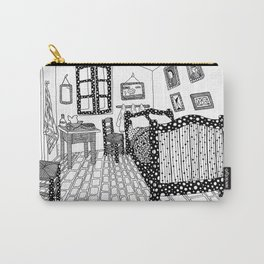 The bedroom. Van Gogh 1888 Carry-All Pouch