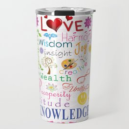 Inspirational Words Travel Mug