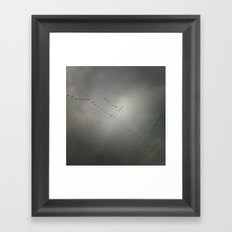 Comeback Framed Art Print