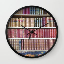 How Bookish are you? Wall Clock