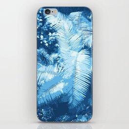 Blue Djungle iPhone Skin