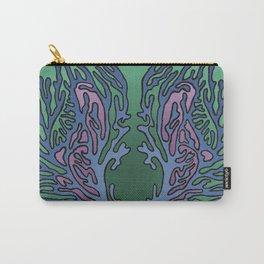 Coral Pattern - Alpine Colour Scheme Carry-All Pouch