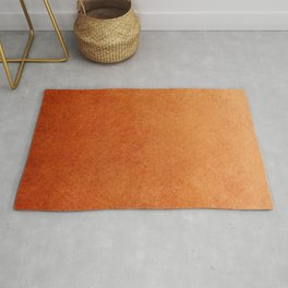 Brown Textured Ombre Abstract Rug