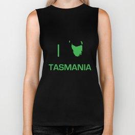 I heart Tasmania Biker Tank