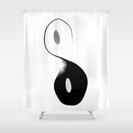 Existential Polarity Shower Curtain