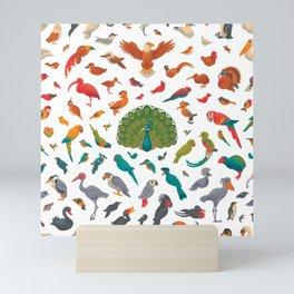 Aerial Spectrum : pattern Mini Art Print