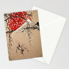 Japan Fishermen Stationery Cards