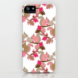 Squirrels iPhone Case