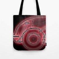 neon Tote Bags featuring Neon by Fernando Vieira