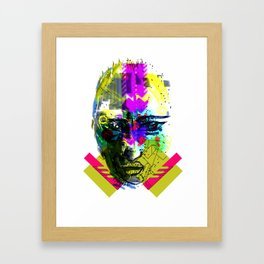 FACE1 Framed Art Print