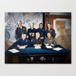 Supreme Command - Allied Expeditionary Force - WW2 Canvas Print