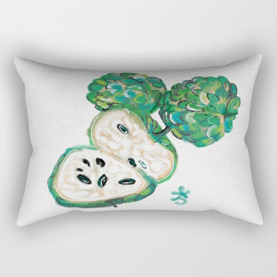 Sweet Sop Sugar Spring Rectangular Pillow