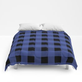 Blue Flannel Comforters