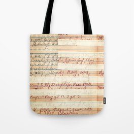 Independence Day Farmers Journal Tote Bag