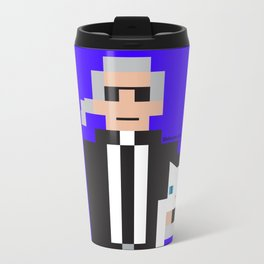 8 Bit Karl Travel Mug