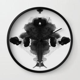 Form Ink Blot No. 29 Wall Clock