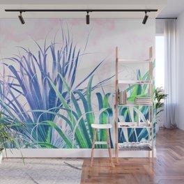 Pastel Palms Wall Mural