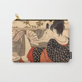 Lovers in an Upstairs Room Carry-All Pouch