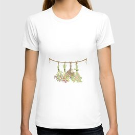 Original Herbs in Pastel Color T-shirt