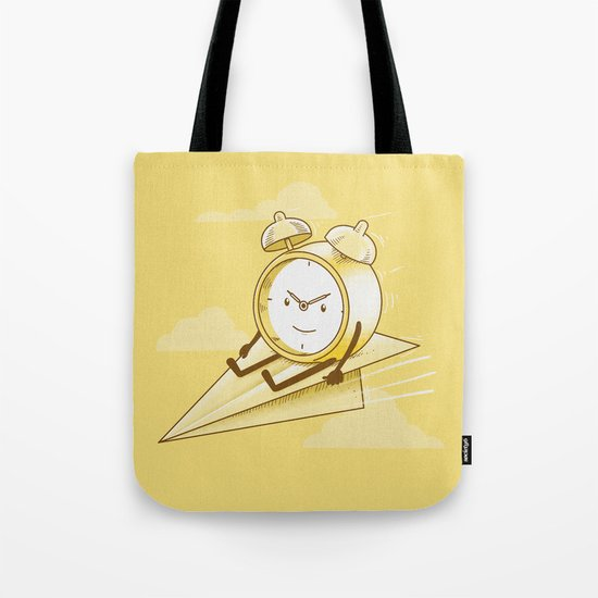 Time Flies Tote Bag