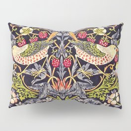 William Morris Strawberry Thief Art Nouveau Painting Pillow Sham