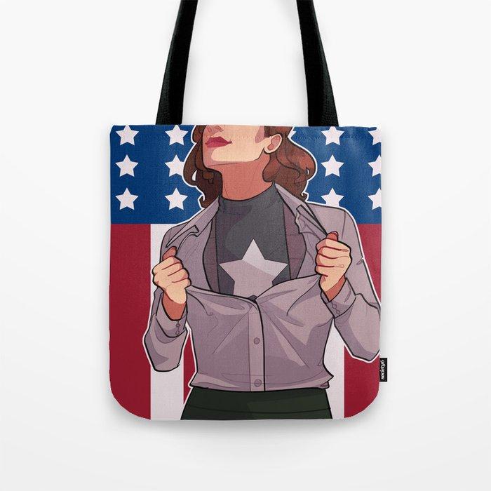 HIT 'EM AGAIN CAP Tote Bag