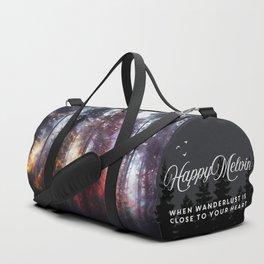 Warm fuzzy feelings Duffle Bag
