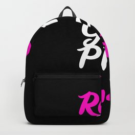 Real Girls Play Handball Backpack