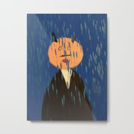 Devil in the Rain... Metal Print