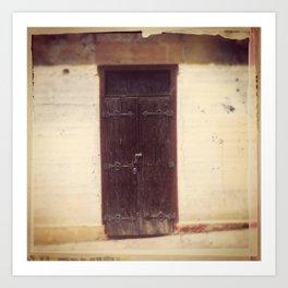 Doorway, Culebra Art Print