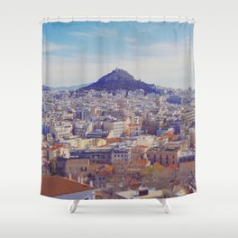 Above the City Shower Curtain
