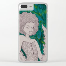 Of the Sea Clear iPhone Case
