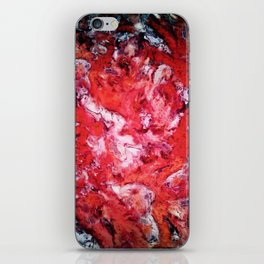 Red navigation light iPhone Skin