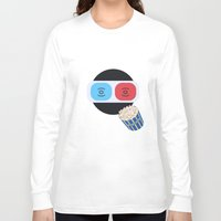 cinema Long Sleeve T-shirts featuring Cinema by Thomas Official