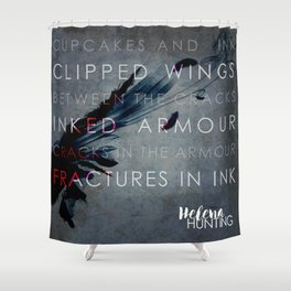 The Clipped Wings series by Helena Hunting #1 Shower Curtain