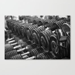 One Rep at a Time Canvas Print