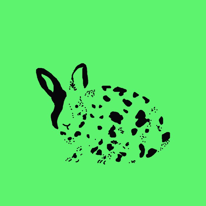Harlequin Rabbit Spots Comforters