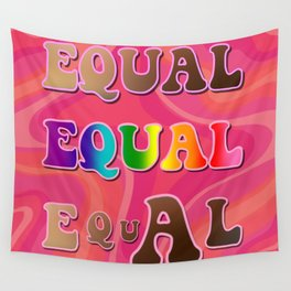 Equal Equal Equal Wall Tapestry