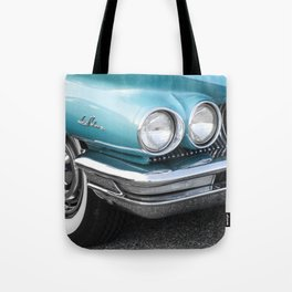 Vintage Car Photography | Turquoise Bedroom Art Tote Bag