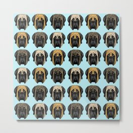 Mastiff Trio Metal Print