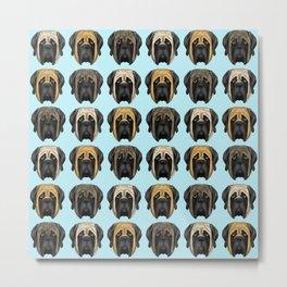 Mastiff Trio Metal Print