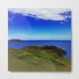 Everything Is Blue And Green Metal Print
