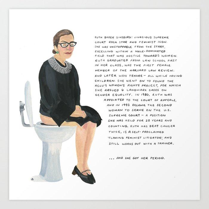 Ruth Bader Ginsburg Kunstdrucke