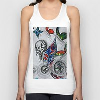 cycle Tank Tops featuring cycle by Maithili Jha